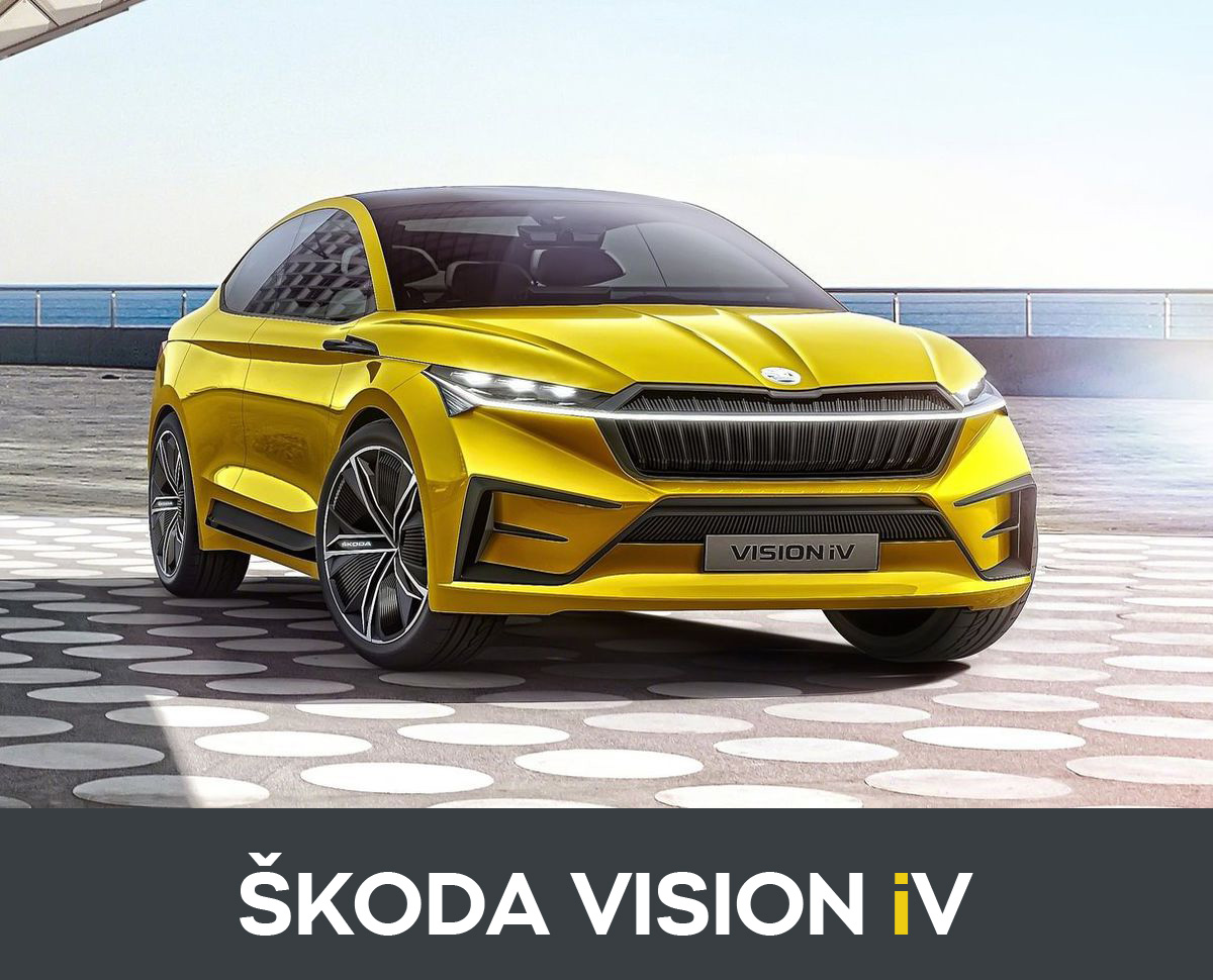 ŠKODA VISION iV front